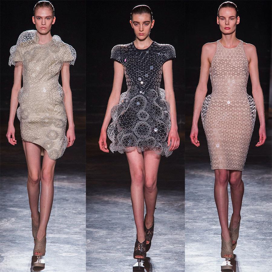 Футуристические платья