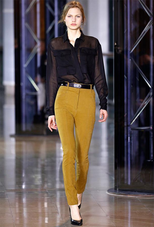 блуза Anthony Vaccarello