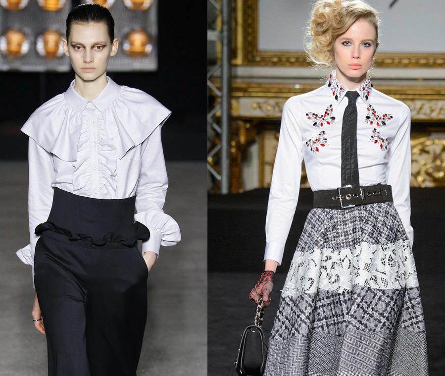 Модные женские блузки 2016-2017