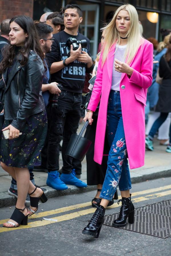 Уличный стиль с Недели моды в Лондоне