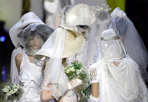 Вязаные свадебные платья – роскошные и практичные модели