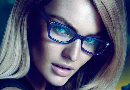 Девушки в очках – самые красивые образы
