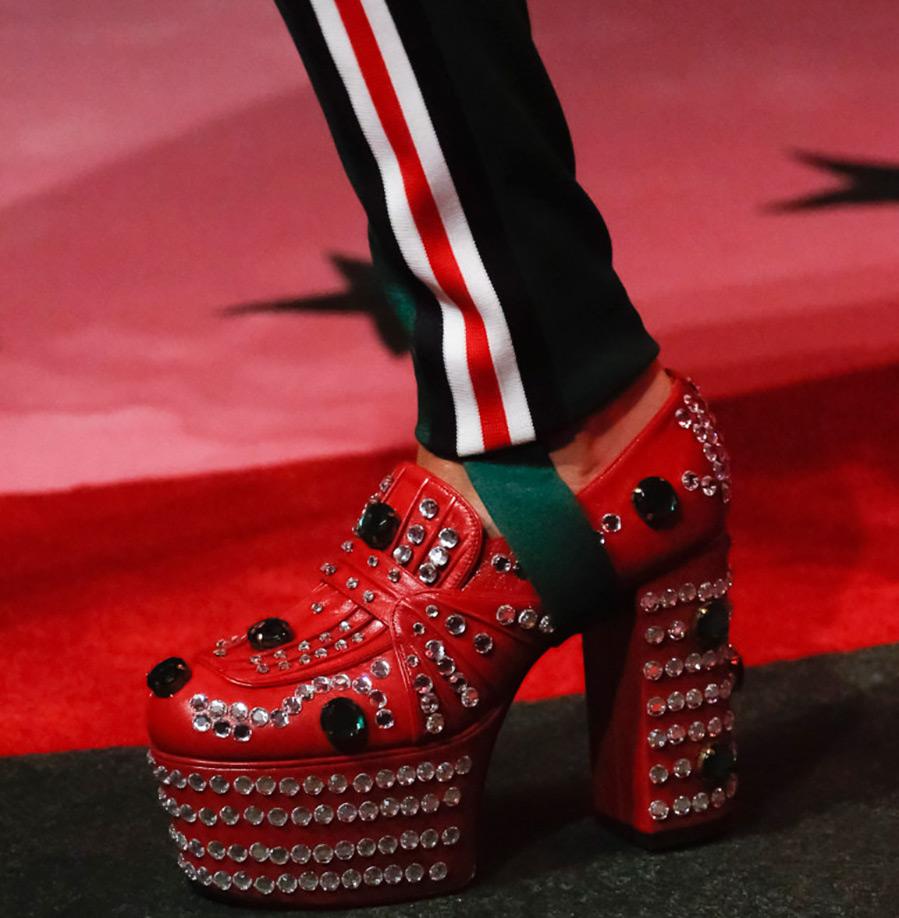 Женская обувь Gucci весна-лето 2017