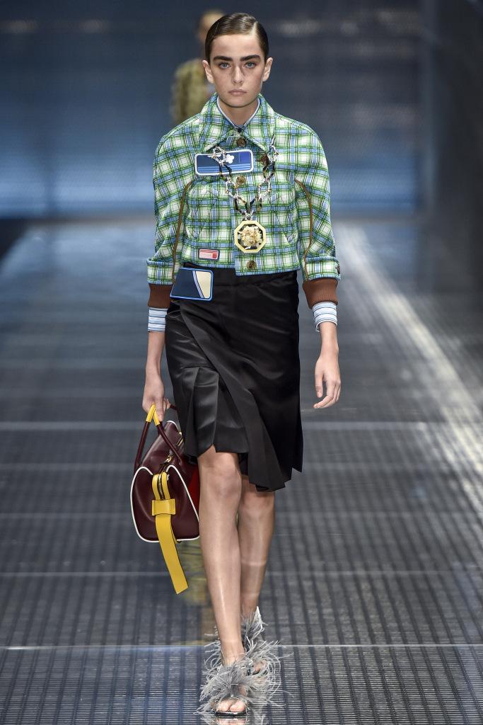 cd722b920fea Женская одежда и сумки Prada 2017 – фото и модные тенденции