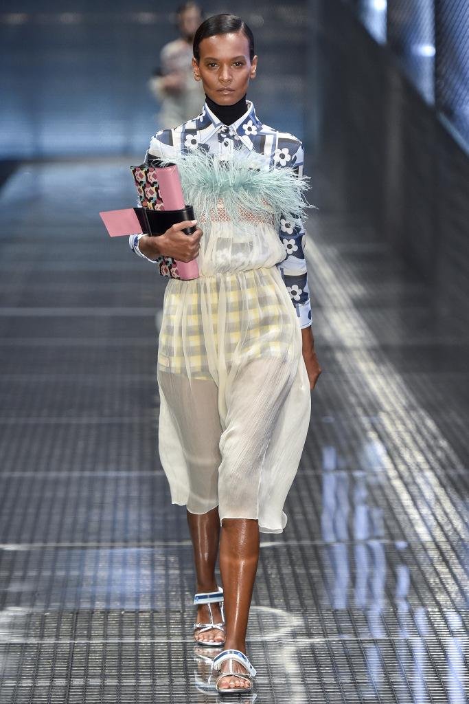 Женская обувь Prada из коллекции Осень-Зима 2017/18