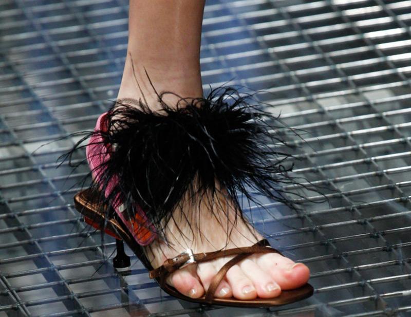 Летняя обувь Prada