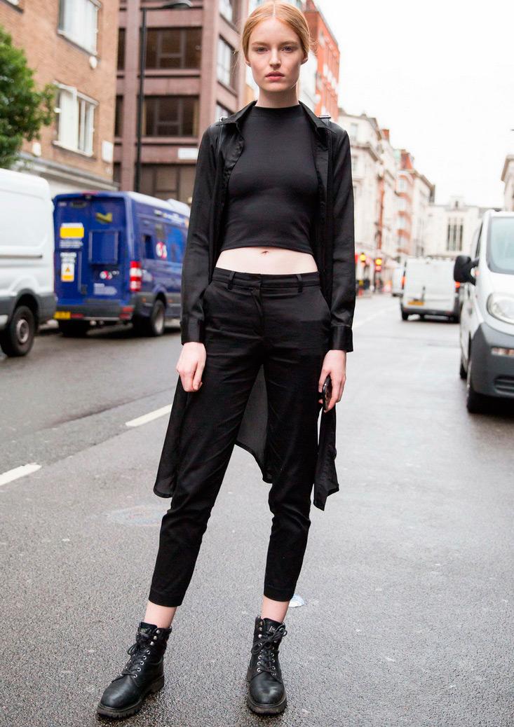 Самые стильные модели с Недели моды в Лондоне