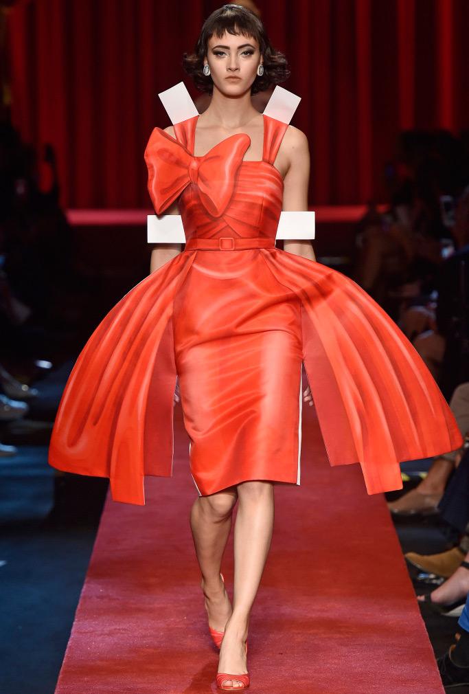 Коллекция женской одежды Moschino весна-лето 2017