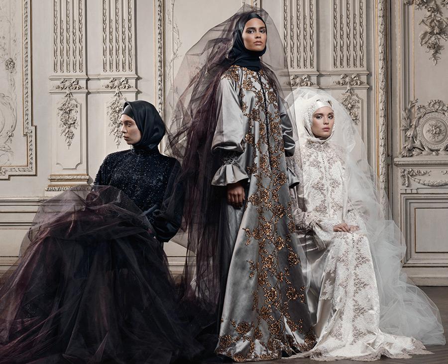 Молитвенные мусульманские платья
