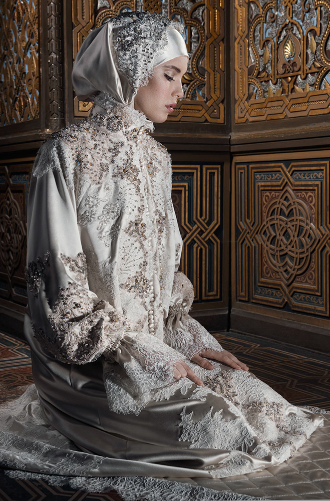 Красивое молитвенное платье