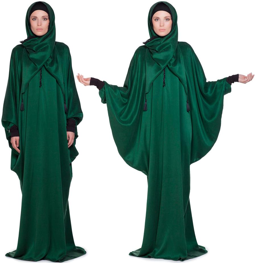 Зеленое молитвенное платье