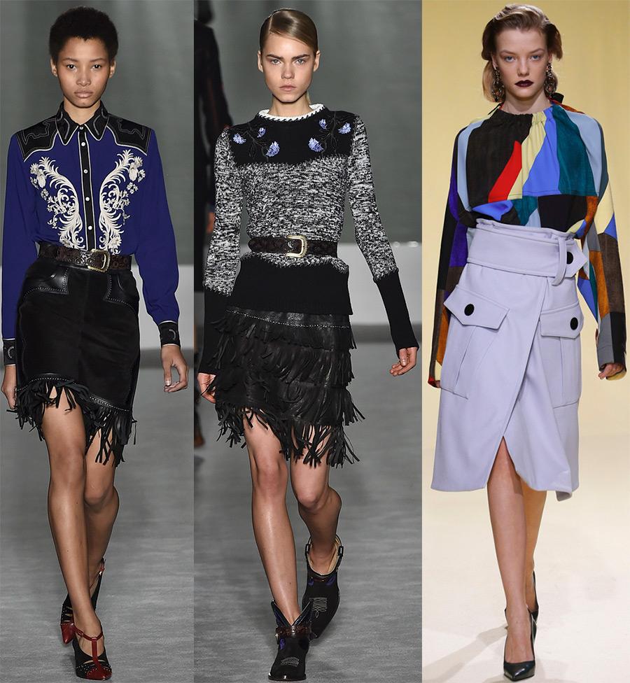7a3e122f074 Модные юбки 2016-2017 года – все модные тенденции сезона