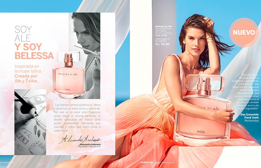 Алессандра Амбросио выпускает свой первый парфюм