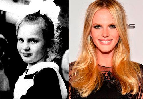 Как топ-модели выглядели в детские годы