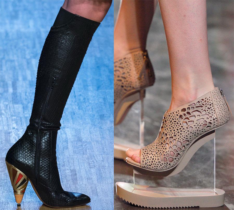 Модная женская обувь осень-зима 2016-2017
