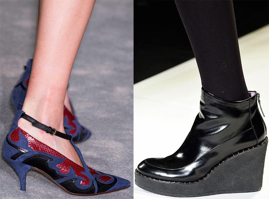 женская обувь 2016-2017