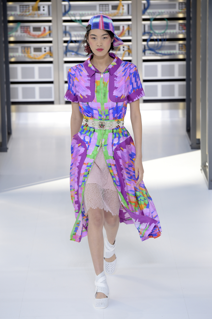 Платье Chanel весна-лето 2017