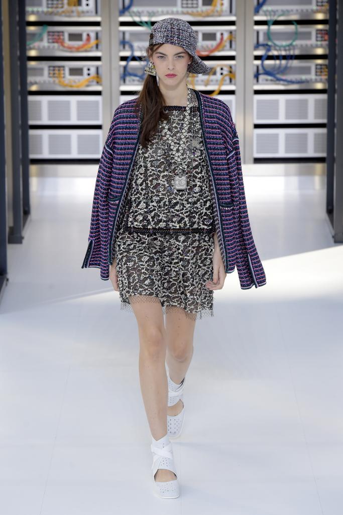 Цифровая коллекция Chanel весна-лето