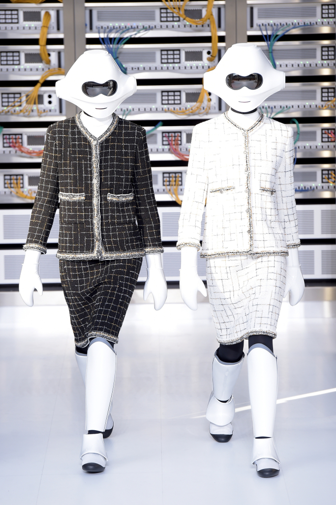 Цифровая коллекция Chanel весна-лето 2017
