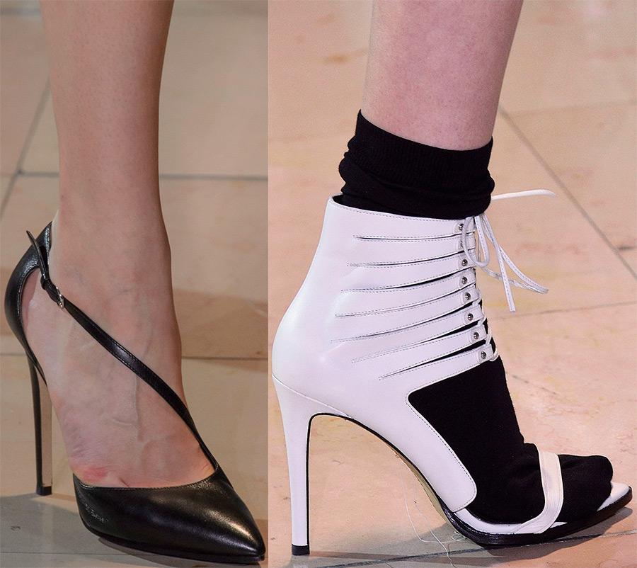 Anthony Vaccarello женские туфли 2016-2017 года