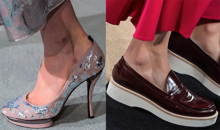 Женские туфли 2016-2017 года
