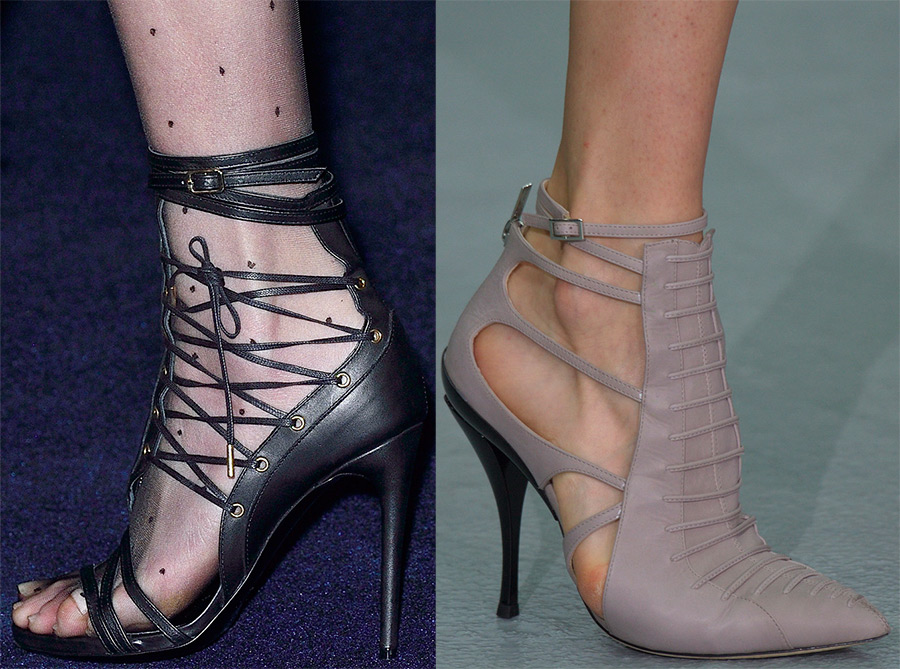 Женские туфли осень
