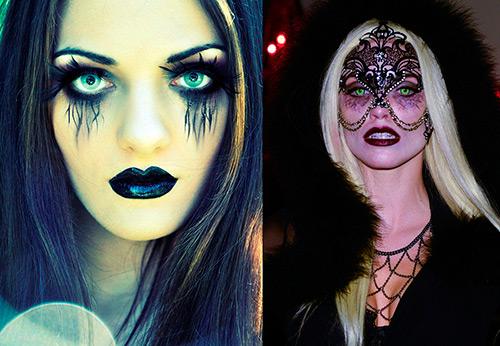 Макияж на Хэллоуин 2016 – лучшие образы для девушек