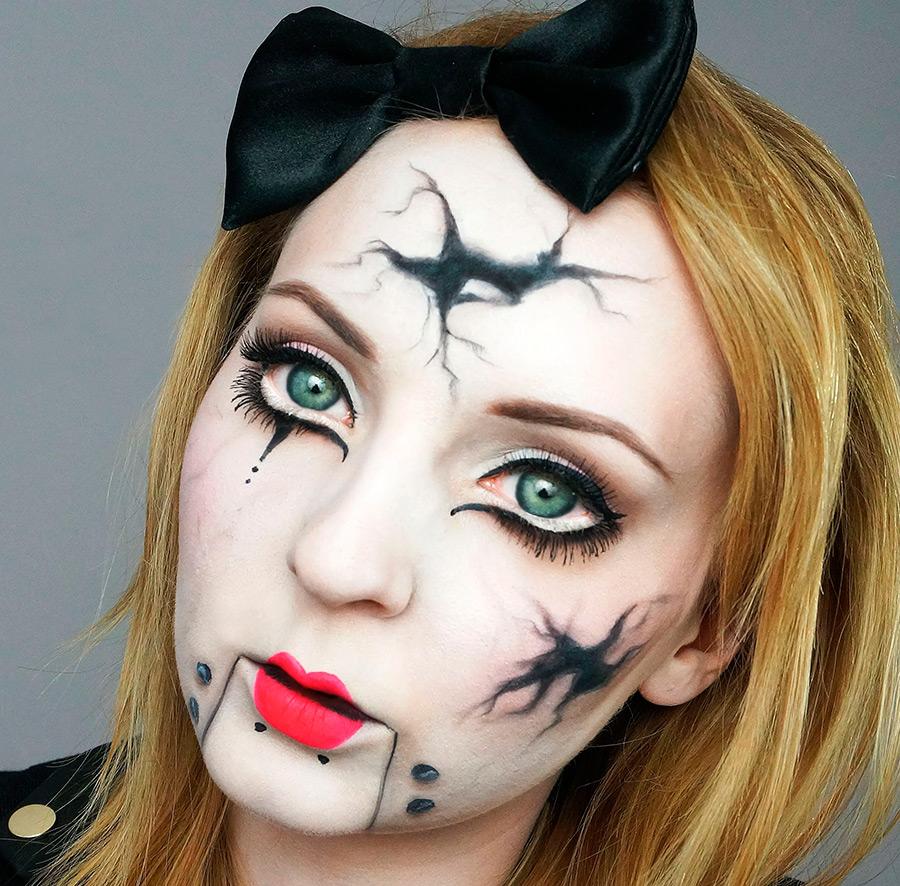 Фото грима на хэллоуин для девушек