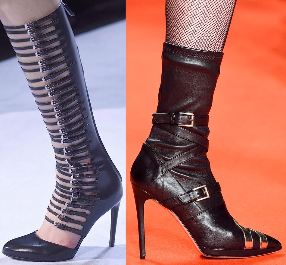 Пряжка как декоративный элемент обуви