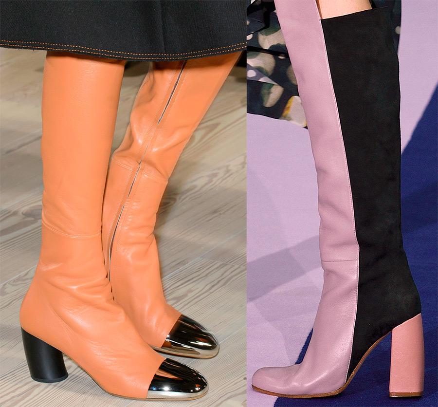 Модные женские сапоги 2019-2019 года