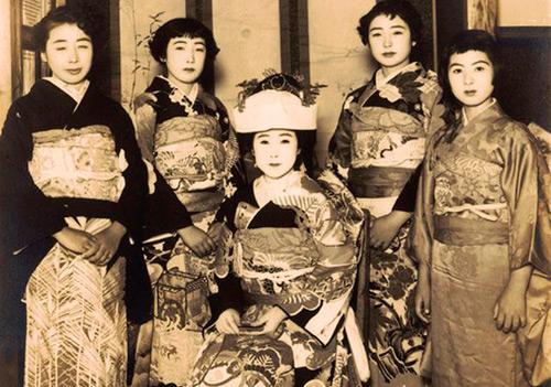 Свадебные образы японских невест начала XX века