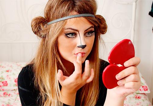 Яркие и доступные идеи макияжа на Хэллоуин
