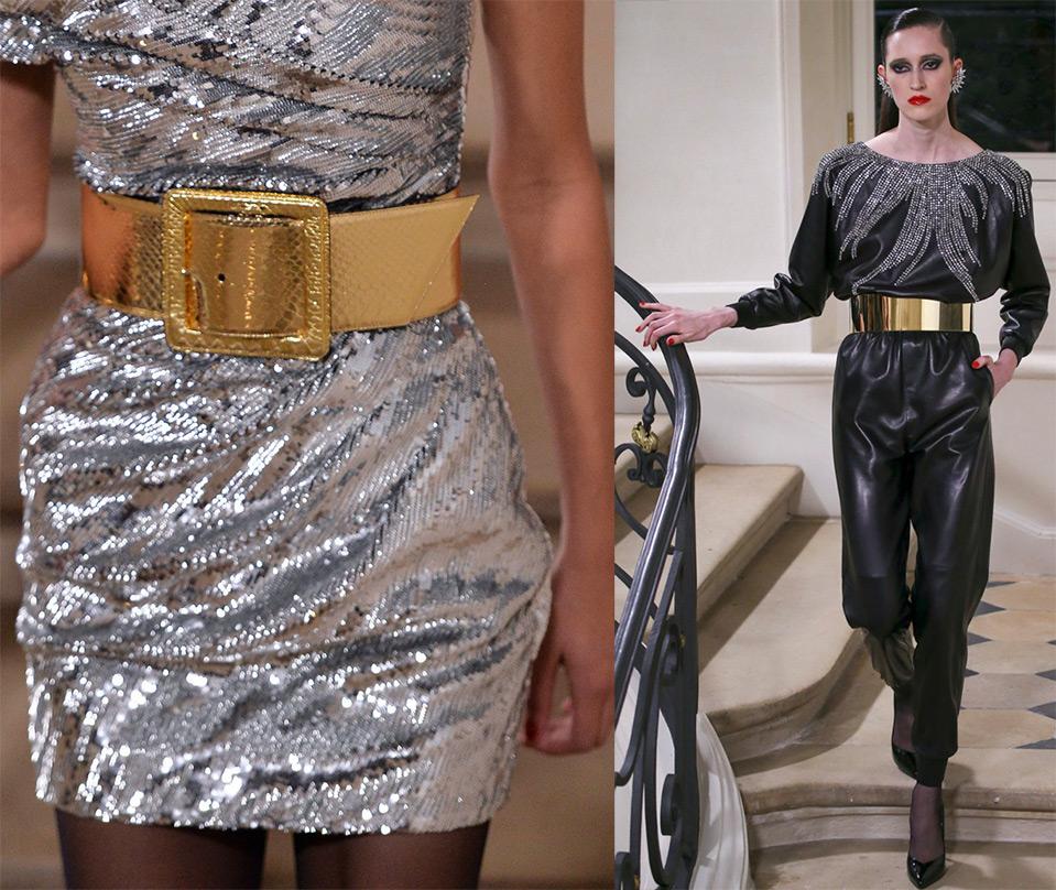 Модные пояса Saint Laurent