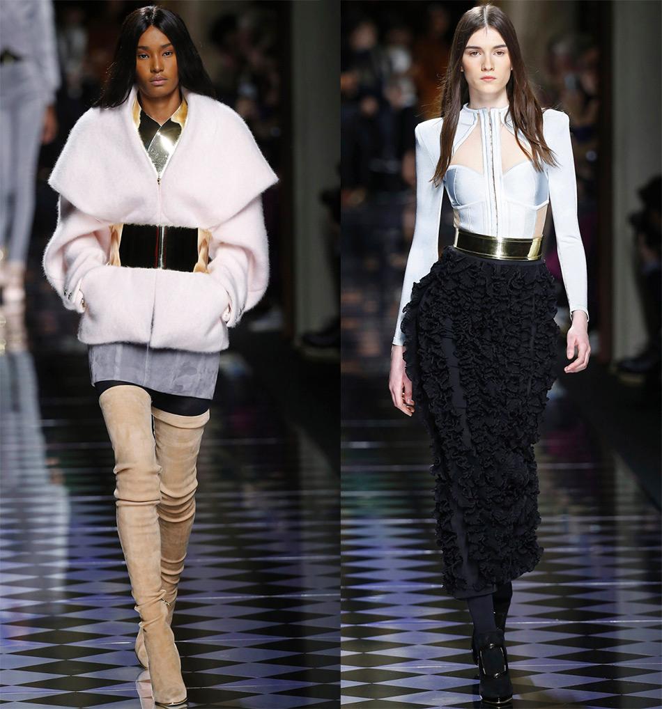 Модные пояса Balmain