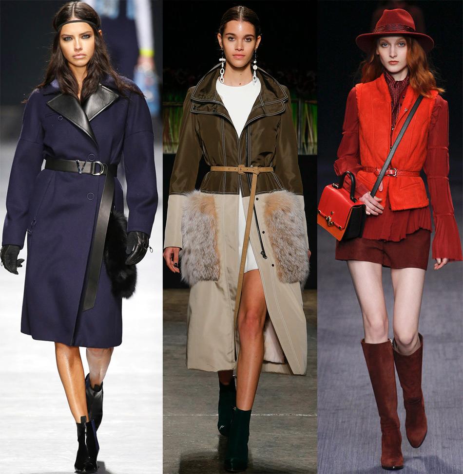 Модные узкие пояса и ремни