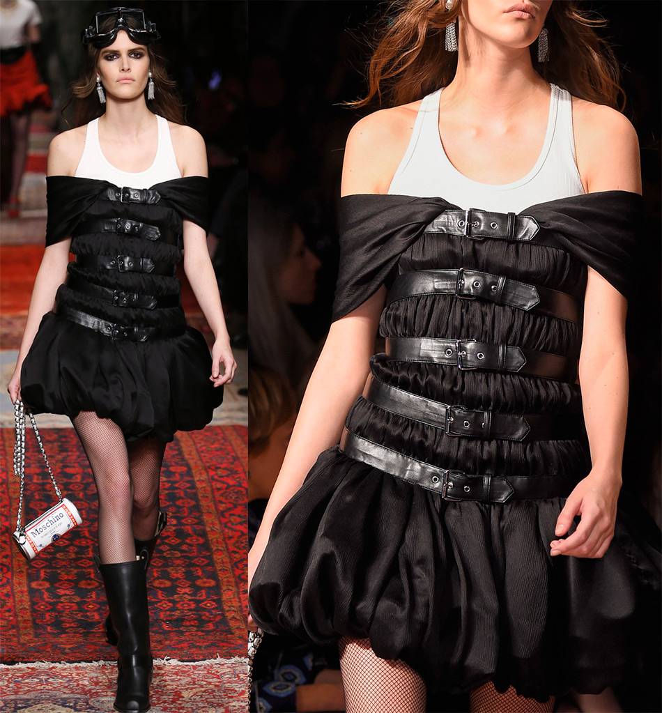 Модные ремни Moschino