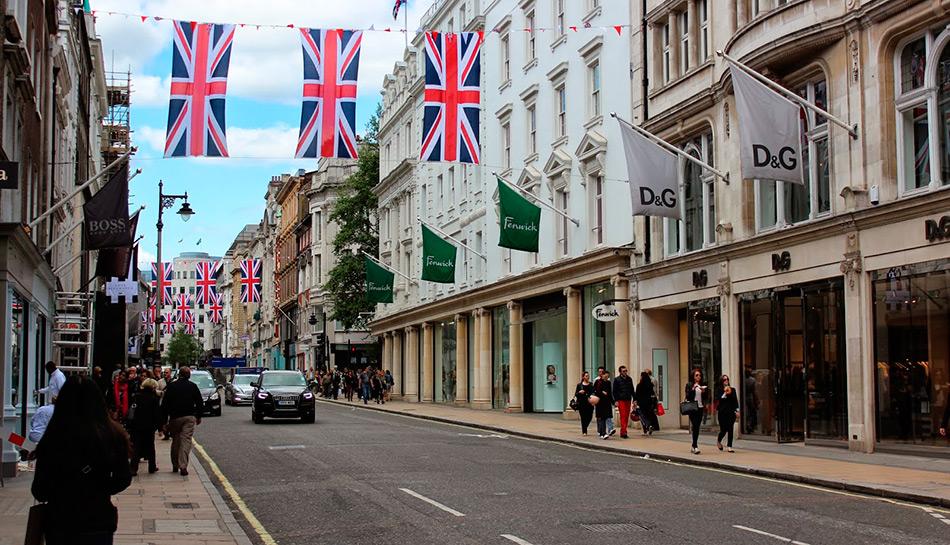 Упадок в Британской модной индустрии title=