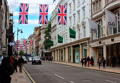 Упадок в Британской модной индустрии
