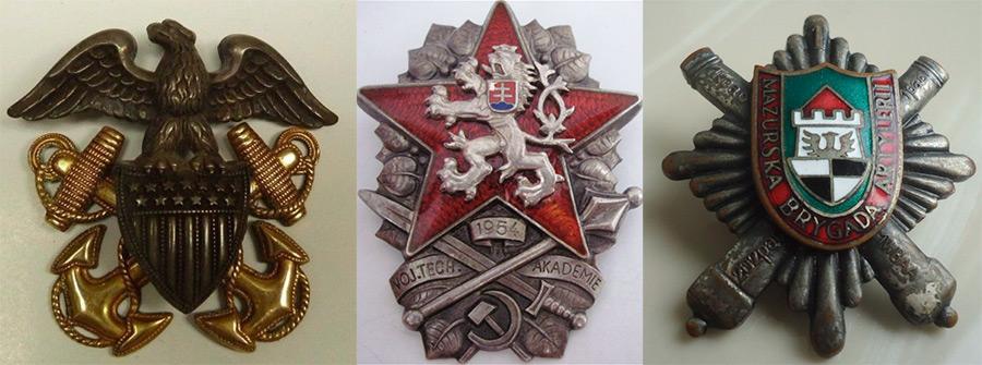 значки для украшения образа в стиле Милитари