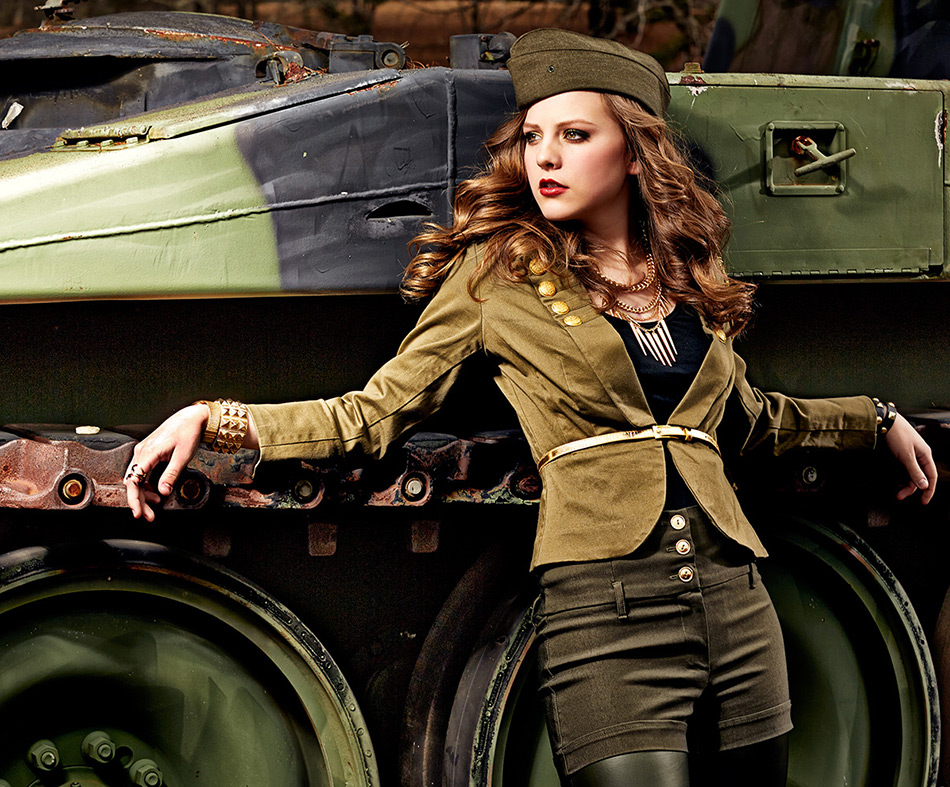 Одежда и аксессуары в стиле милитари