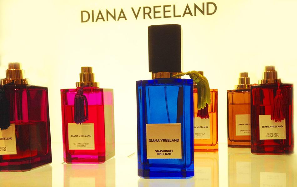 Парфюмерные ароматы, посвящённые Диане Вриланд