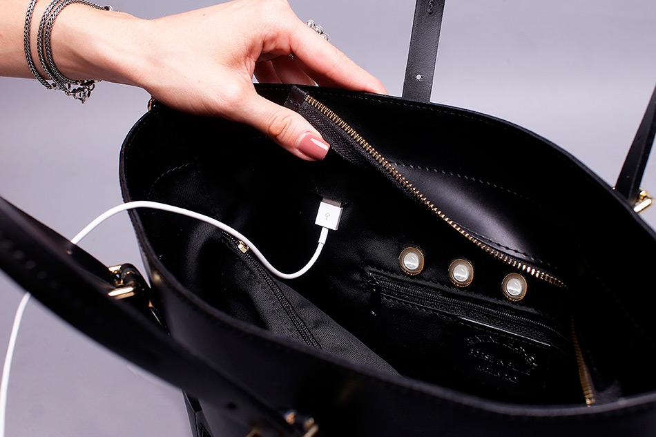 Умная сумка с подсветкой