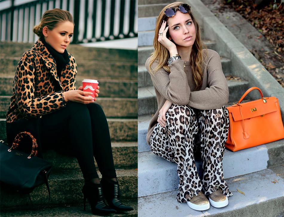 Как сочетать вещи с леопардовым принтом