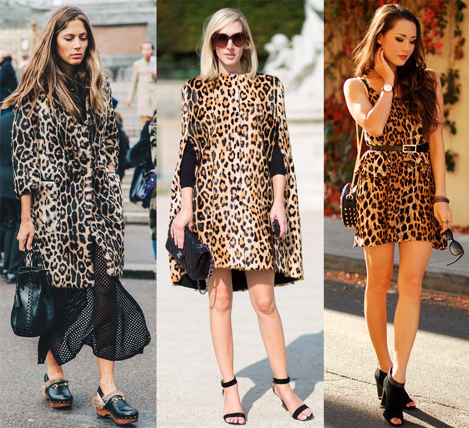 Образы с леопардовым принтом