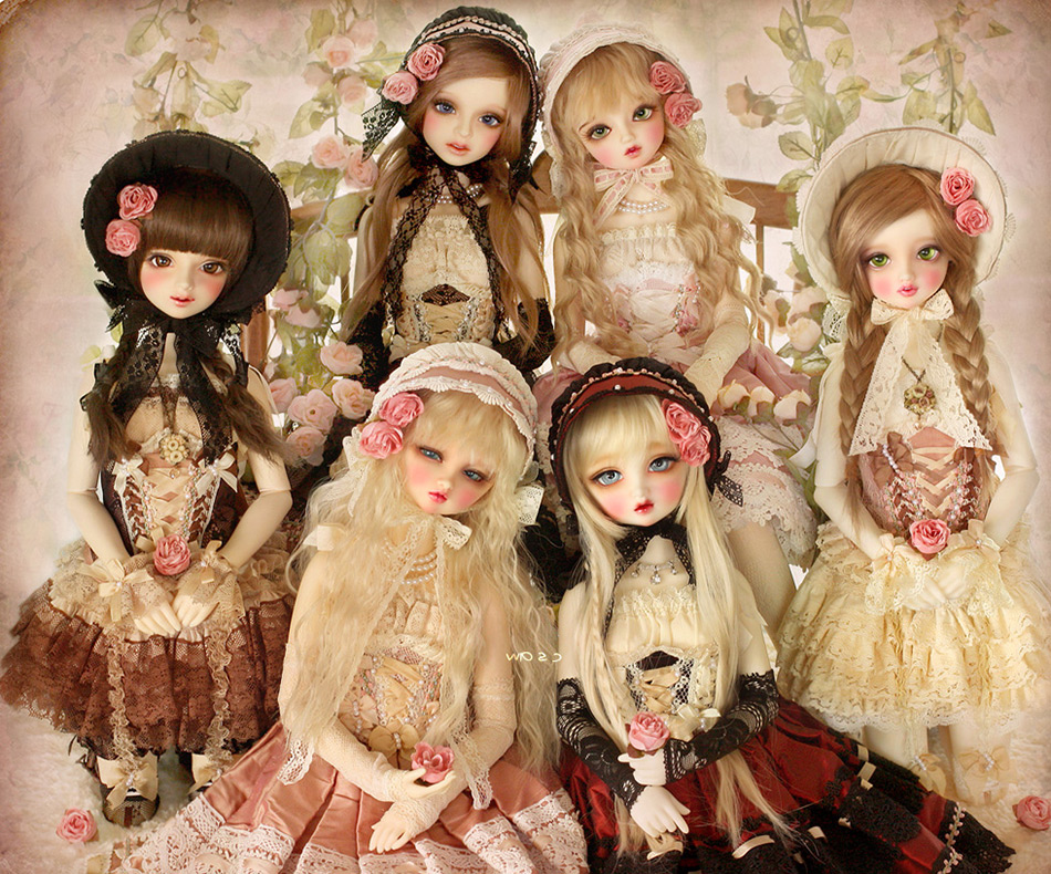картинки где много кукол