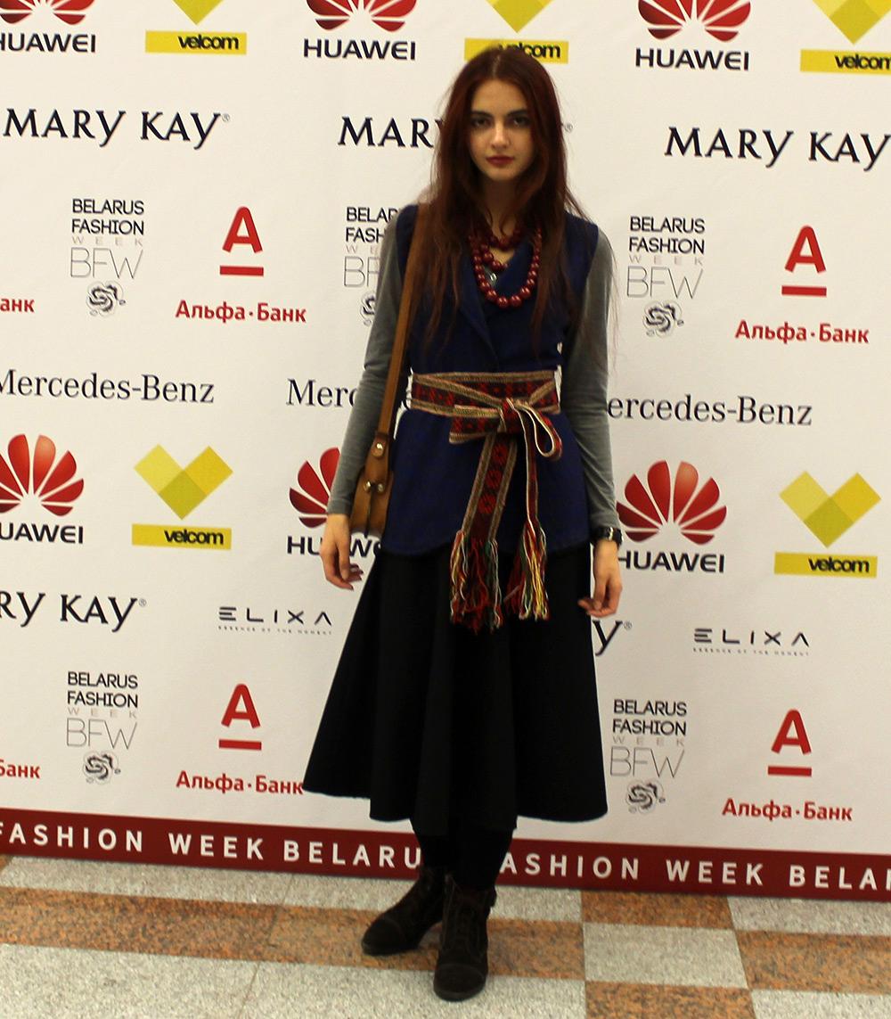 Констанция фото с Belarus Fashion Week