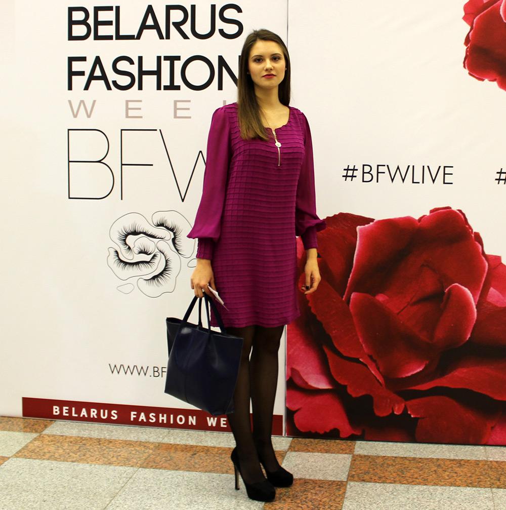 Ульяна - фото с Недели моды