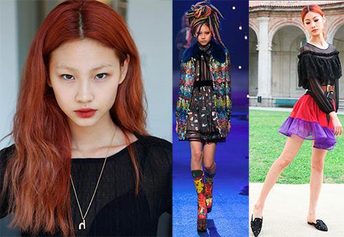 Хо Ен Чон модель из Южной Кореи
