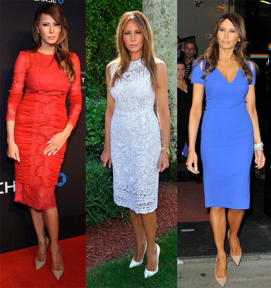 Мелания Трамп - стиль одежды