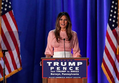 Мелания Трамп - стиль одежды и биография